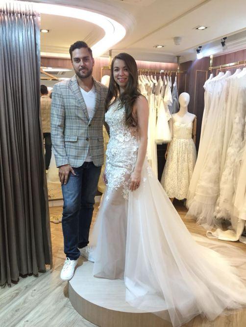 wedding dress fitting 2